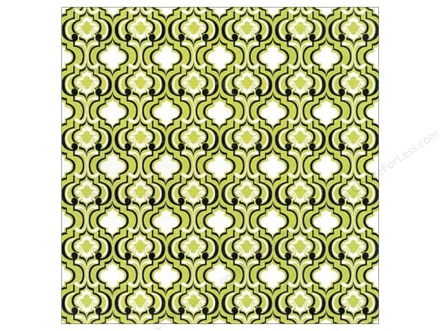 Blend Paper 12 x 12 in. Hope Chest Quatrefoil Green (25 sheets)