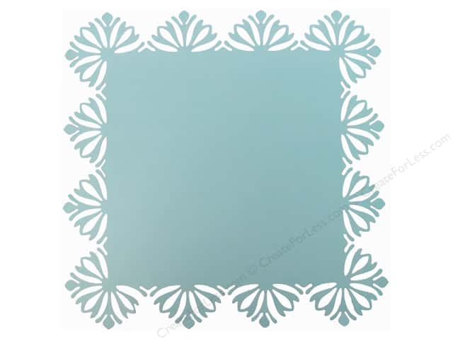 Blend Paper 12 x 12 in. Hope Chest Diecut Turquoise (25 sheets)