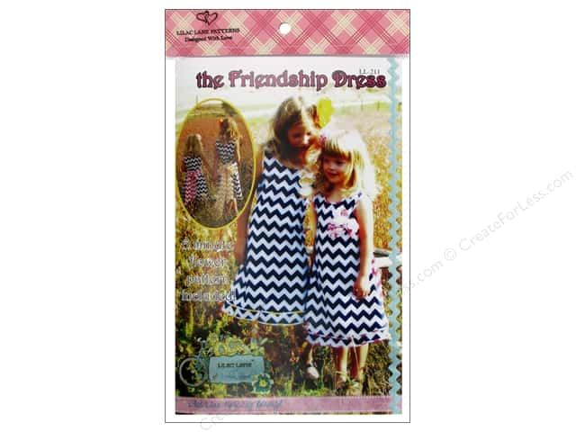 Lilac Lane The Friendship Dress Size 2T-10 Pattern