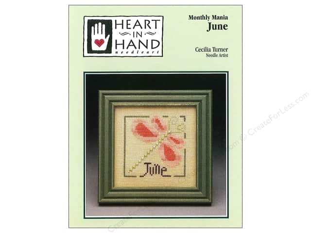 Heart In Hand Monthly Mania June Pattern by Cecilia Turner