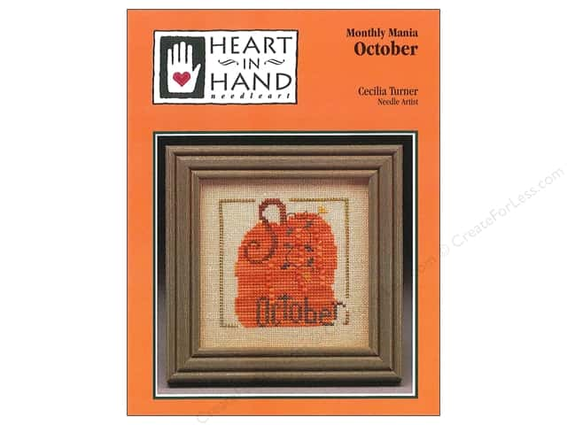 Heart In Hand Monthly Mania October Pattern by Cecila Turner