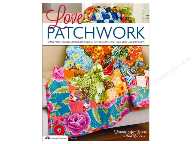 Design Originals Love Patchwork Book featuring Amy Butler & Jane Brocket