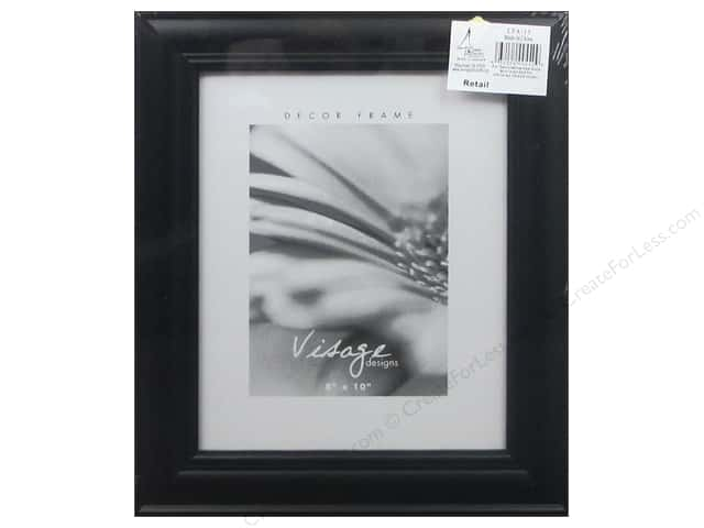 Sierra Pacific Frame Wood 8 in. x 10 in. with Easel Black