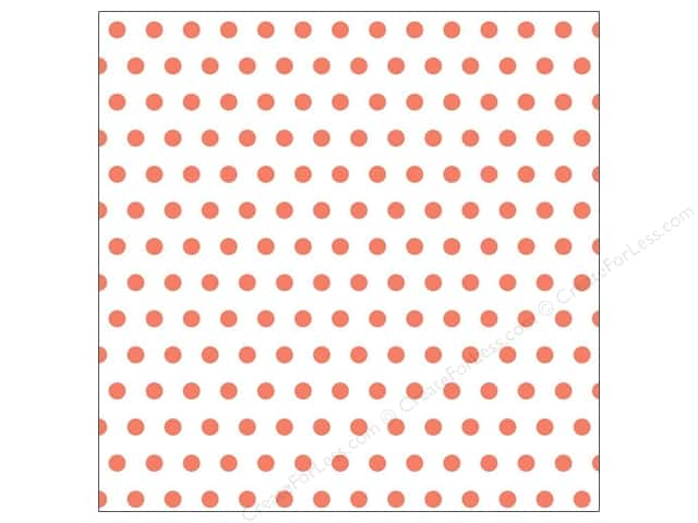 American Crafts 12 x 12 in. Vellum Dear Lizzy Lucky Charm Lucky Lady Bug (15 sheets)