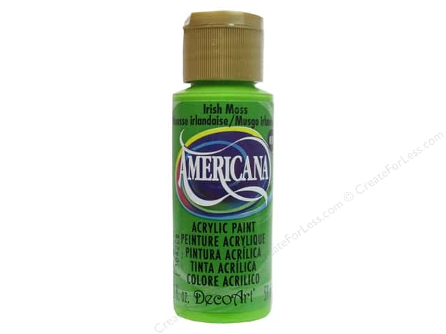 DecoArt Americana Acrylic Paint 2 oz. #312 Irish Moss