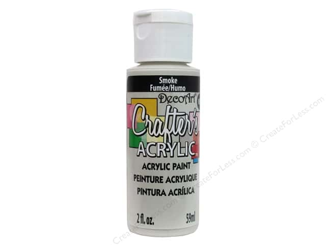 DecoArt Crafter's Acrylic Paint 2oz Smoke
