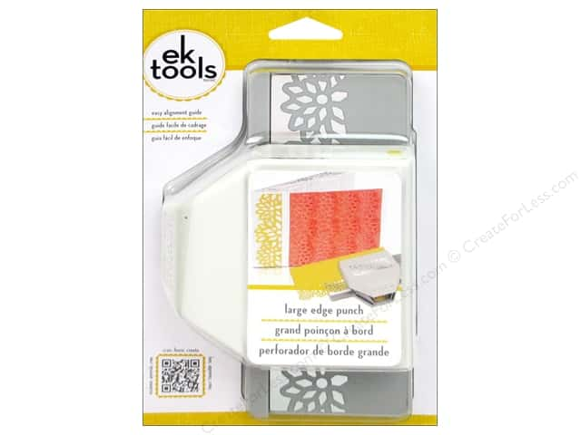 EK Paper Shapers Large Edger Punch Diamond Flowers 3 in.