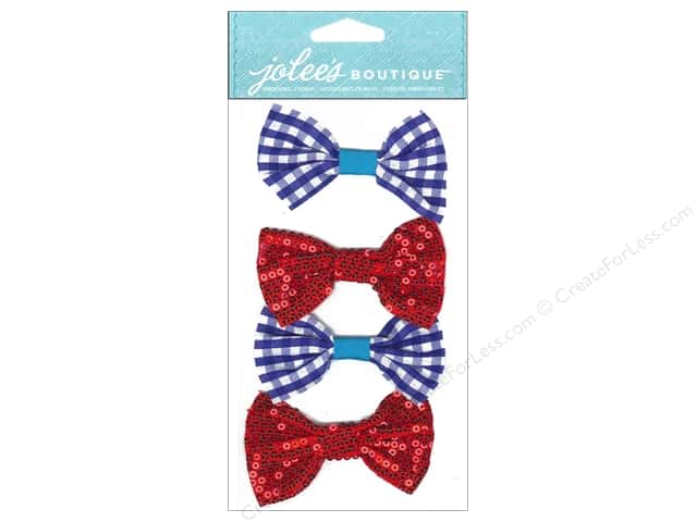 Jolee's Boutique Stickers Dressups Bow Ties