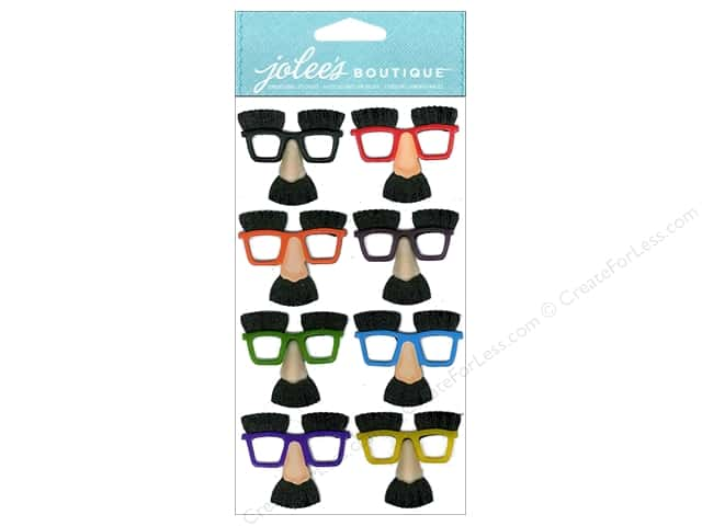 Jolee's Boutique Stickers Dressups Mini Noses & Glasses