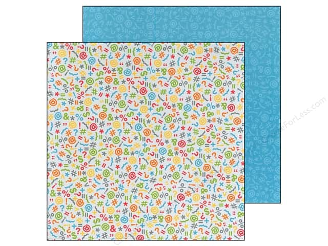 Doodlebug Paper 12 x 12 in. Take Note Expressions (25 sheets)