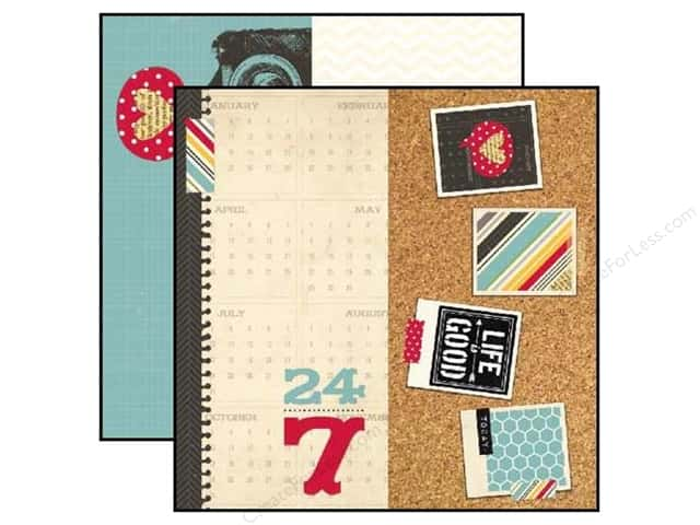 Simple Stories 12 x 12 in. Paper 24/Seven Page Elements (25 sheets)