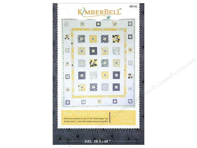 Kimberbell Designs The Jacki Quilt Pattern