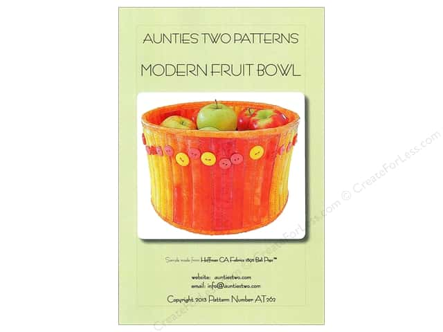 Aunties Two Modern Fruit Bowl Pattern