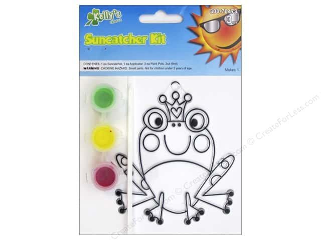 Kelly's Suncatcher Kits Land Far Away Frog