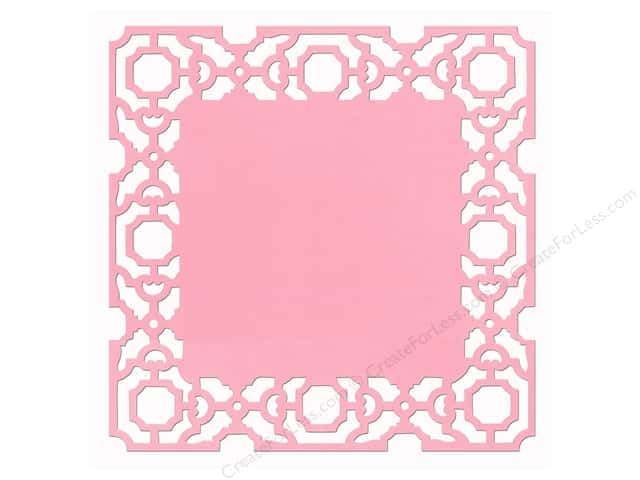 Anna Griffin 12 x 12 in. Cardstock Die Cut Eleanor Pink (25 sheets)