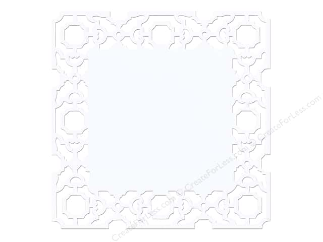 Anna Griffin 12 x 12 in. Cardstock Die Cut Eleanor Blue (25 sheets)