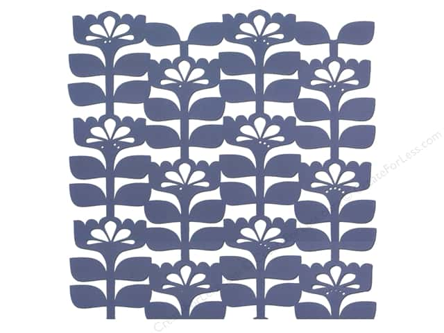 "Blend Paper 12""x 12"" Gabbie Die Cut Floral Blue (25 sheets)"