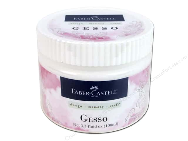 FaberCastell Prep & Finish Gesso Jar 3.3oz