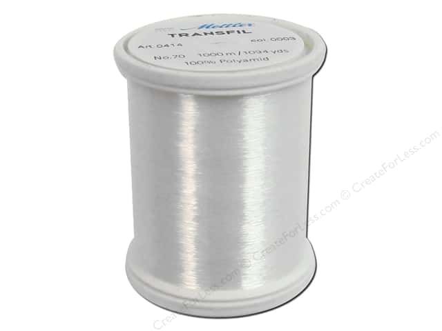 Mettler Transfil 100% Nylon Thread 1094yd Clear