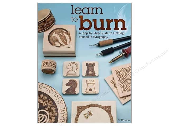 Fox Chapel Publishing Learn To Burn Book by Simon Easton