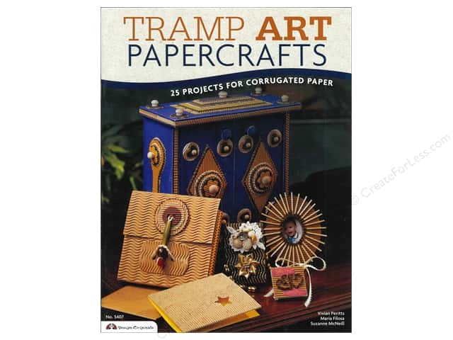 Design Originals Tramp Art Papercrafts Book