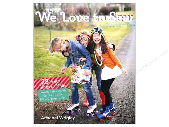 FunStitch Studio We Love To Sew Book by Annabel Wrigley