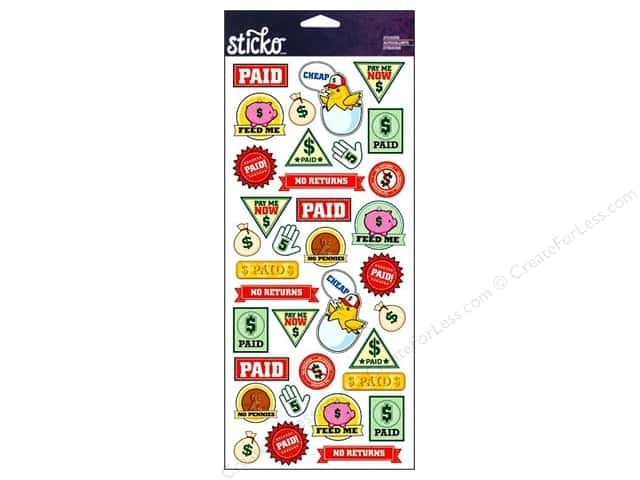 EK Sticko Stickers Paid Sticker