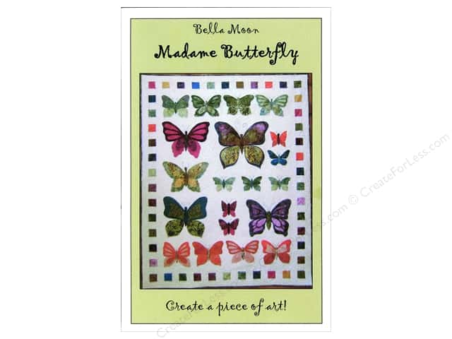 Bella Moon Madame Butterfly Quilt Pattern
