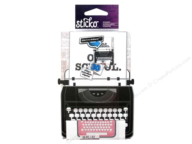 EK Sticko Stickers Typewriter Roll