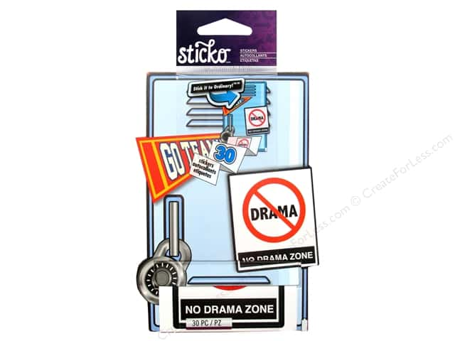 EK Sticko Sticker Roll Zero Drama