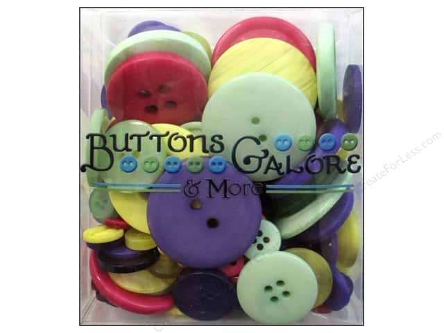 Buttons Galore Button Totes 3.5 oz. Spring