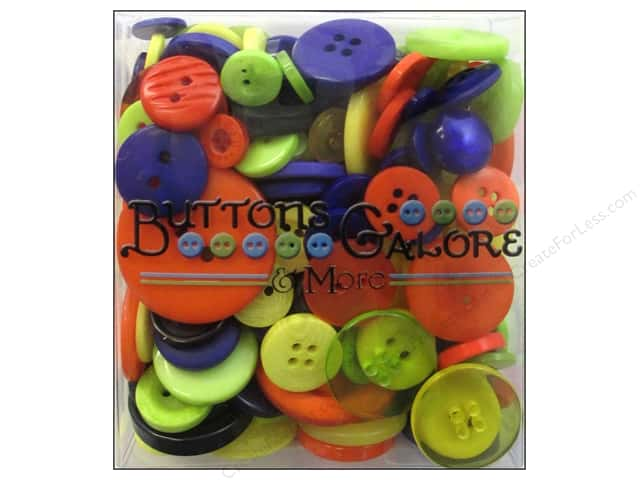 Buttons Galore Button Totes 3.5 oz. Scary