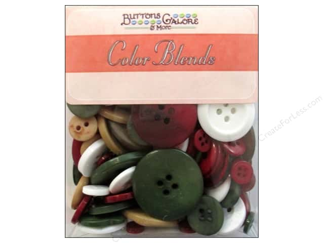 Buttons Galore Button Totes 3.5 oz. Noel