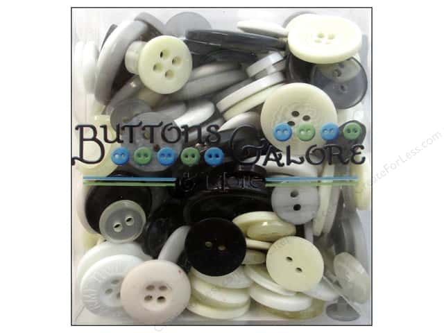 Buttons Galore Button Totes 3.5 oz. Neutrals