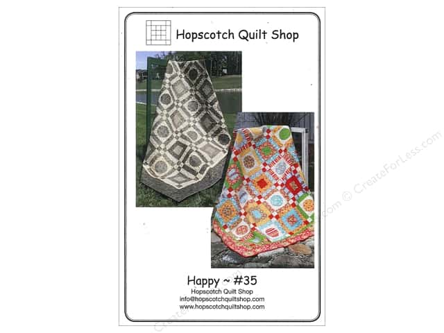 Hopscotch Quilt Shop Happy Pattern