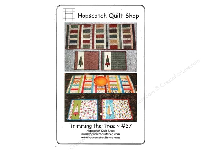 Hopscotch Quilt Shop Trimming The Tree Pattern