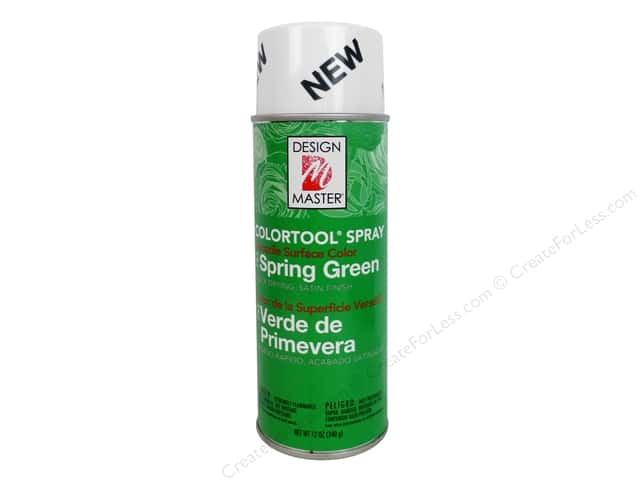 Design Master Colortool Spray Paint #753 Spring Green 12 oz.