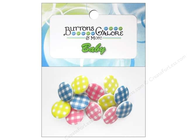 Buttons Galore Theme Buttons Baby Plaid