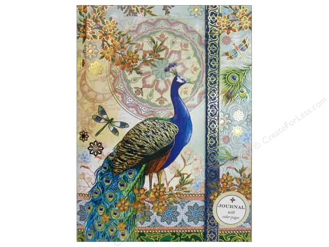 Punch Studio Journal Royal Peacocks