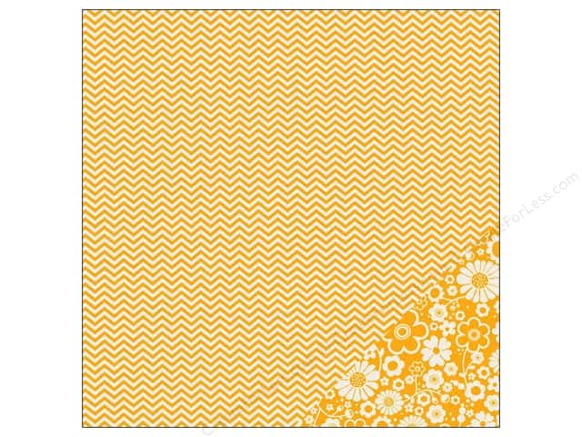 Pebbles 12 x 12 in. Paper Basics Honeycomb Chevron (25 sheets)
