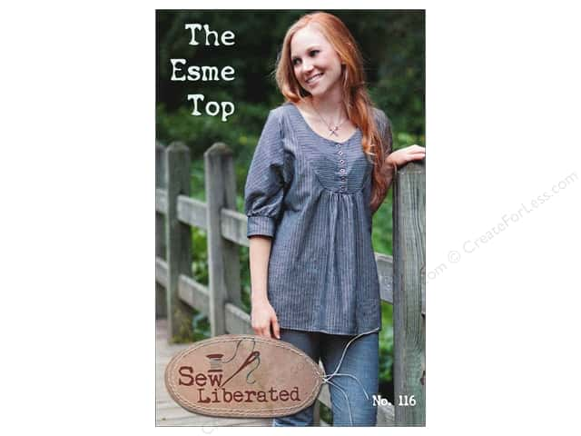Sew Liberated The Esme Top Pattern