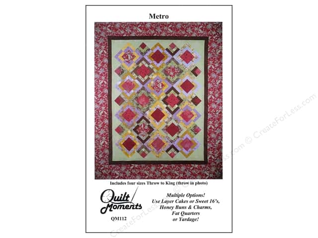 Quilt Moments Metro Pattern