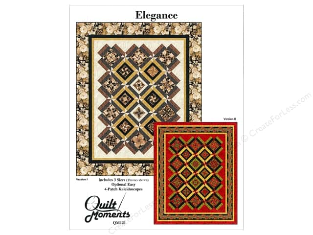 Quilt Moments Elegance Pattern