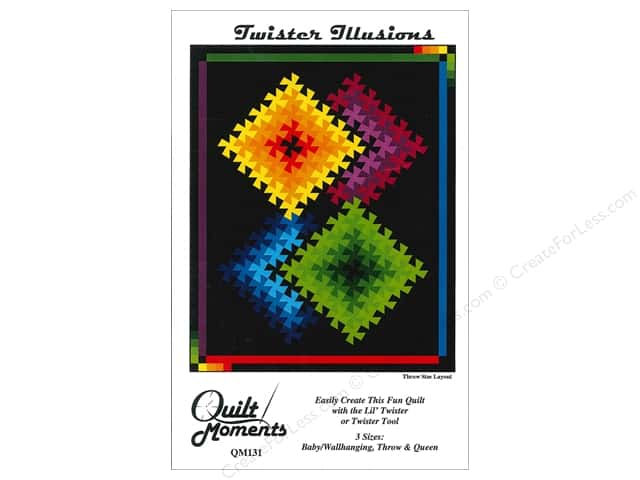 Quilt Moments Twister Illusions Pattern