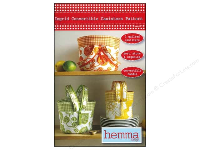 Hemma Design Ingrid Convertible Canisters Pattern