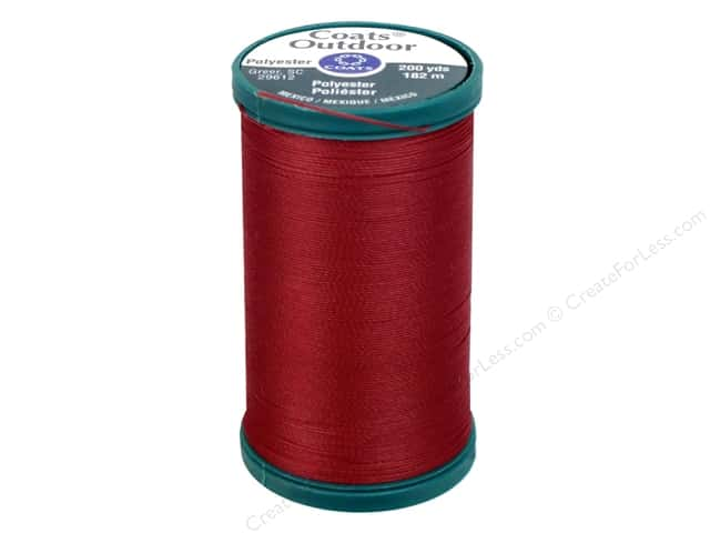 Coats Outdoor Living Thread 200 yd. #39A Red Cherry