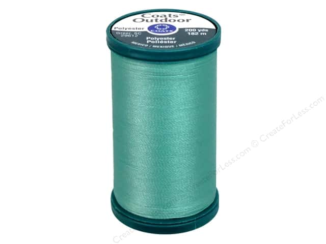 Coats Outdoor Living Thread 200 yd. #432 Caribbean Blue
