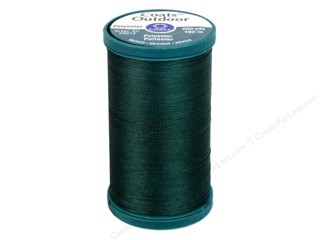 Coats Outdoor Living Thread 200 yd. #323A Scots Green