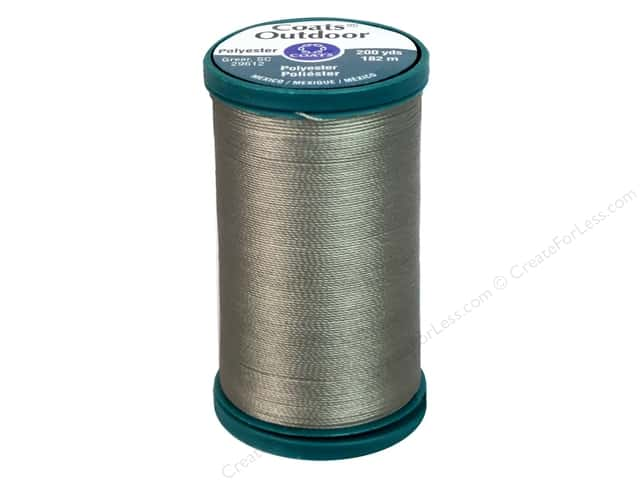 Coats Outdoor Living Thread 200 yd. #25 Steel