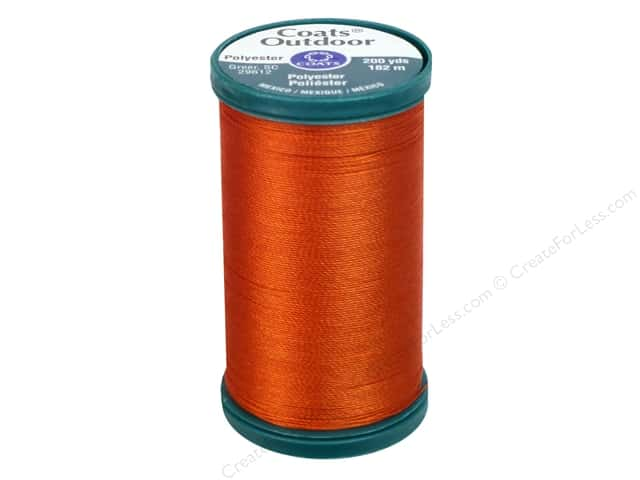 Coats Outdoor Living Thread 200 yd. #462 Advance Orange